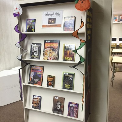 Halloween Book Display
