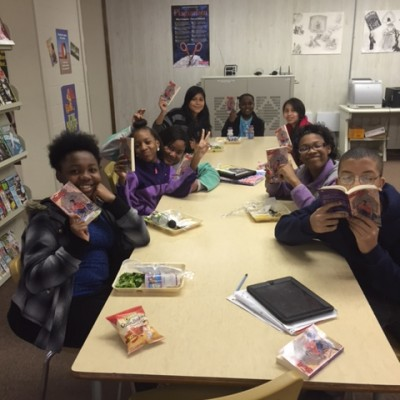2015-16 7th grade book club