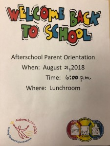 Image of Afterschool Parent Orientation